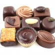 Stock Photo: Mixed chocolates