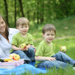 Family picnic — Stock Photo #4614465