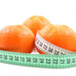 Light tangerines — Stock Photo