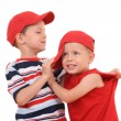 Royalty-Free Stock Photo: Children fight