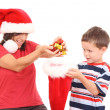 Christmas presents — Stock Photo #4630345
