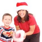 Christmas presents — Stock Photo #4630388