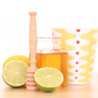 Cold and flu remedy — Stock Photo