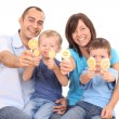 Royalty-Free Stock Photo: Sweet family