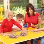 Preschoolers — Stock Photo #4650189