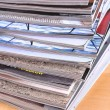Royalty-Free Stock Photo: Stack of magazines