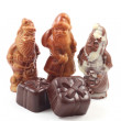 Chocolate Santa — Stock Photo #4653385