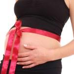 Pregnant present — Stock Photo
