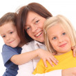 Mother with children — Stock Photo #4656859