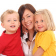 Mother with children — Stock Photo #4656862