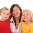 Mother with children — Stock Photo #4656870