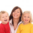 Mother with children — Stock Photo #4656875