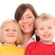 Mother with children — Stock Photo #4656900