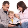 Leisure activity - family reading — Stock Photo #4658821