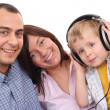Leisure activity - family — Stock Photo
