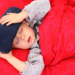 Sick kid — Stockfoto #4659510