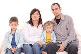 家庭的肖像 — 图库照片
