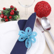 Christmas table setting — Stock Photo #4667081