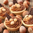 Hazelnuts cookies - Stock Photo
