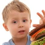 Boy and big sandwich — Stock Photo #4668287