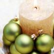 Christmas candle — Stock Photo #4669466