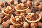 Hazelnuts cookies — Stock Photo