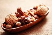 Bowl of delicacies — Stock Photo