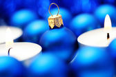 Blue decoration — Stockfoto