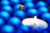 Blue decoration — Stock Photo