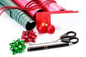 Embalaje de regalo de navidad — Foto de Stock