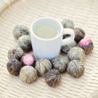 Royalty-Free Stock Photo: Green tea balls