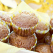 Freckless muffins — Stock Photo