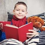 Reading book — Stock Photo #5039167