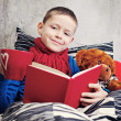 Reading book — Stock Photo #5039177