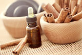 Cinnamon aromatherapy — Stock Photo