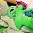 Cleaning supplies — Stockfoto