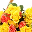 Basket of roses — Stock Photo #5180601
