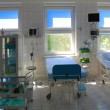 Stock Photo: Hospital room