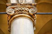 Coluna de arquitetura clássica — Fotografia Stock