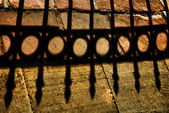 Shadow of the Iron Gate — Stock Photo