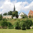Old City in Sandomierz — Stock Photo