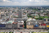 Aerial view of Warsaw. Poland — Stock Photo