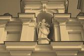 Statue of saint — Stock Photo