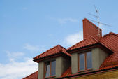 Old home in Sandomierz — Stock Photo