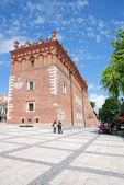 Old town hall in Sandomierz, Poland. — Stock Photo