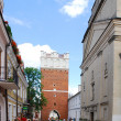 Stock Photo: Street in Sandomierz