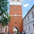Street in Sandomierz — Stock Photo