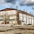 Stock Photo: Abandoned Industrial Warehouse