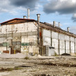 Abandoned Industrial Warehouse - Foto Stock