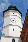 Vecchio municipio di sandomierz, polonia. — Foto Stock